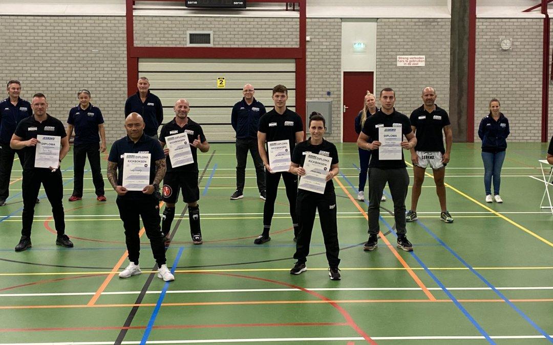 Examens Trainer-Coach 2 en 3 succesvol verlopen